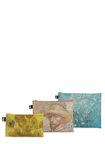 LOQI LOQI Museum Van Gogh Van Gogh Museum Zip Pockets Münzbörse, 32 cm, Van Gogh Museum