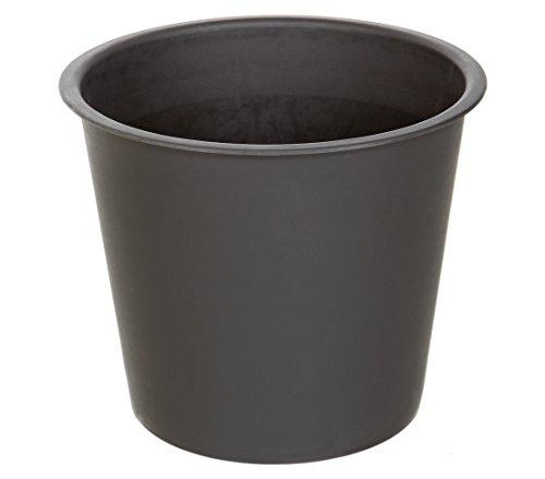 Dehner Universal-Pflanztopf, Ø 44 cm, Höhe 38 cm, Kunststoff, schwarz