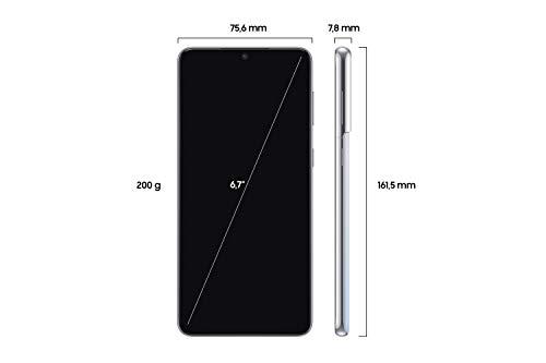 Samsung Galaxy S21+ 5G, Android Smartphone ohne Vertrag, Triple-Kamera, Infinity-O Display, 256 GB Speicher, leistungsstarker Akku, Phantom Silver - 2