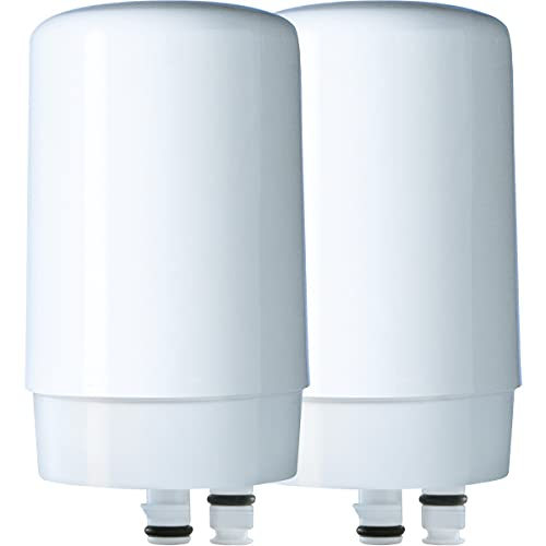 Brita Basic Replacement Water Filters, White, 2 Count
