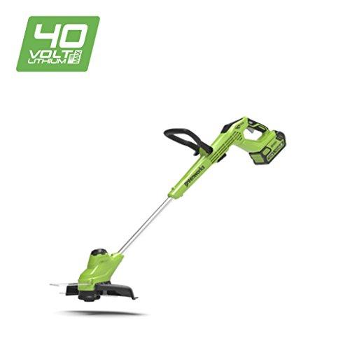 Greenworks Coupe-bordure sans-fil 30cm 40V Lithium-Ion avec vitesse plus lente (sans batterie ni chargeur) - 2105407