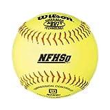 Wilson A9011BSST NFHS Softballs, 12', dz