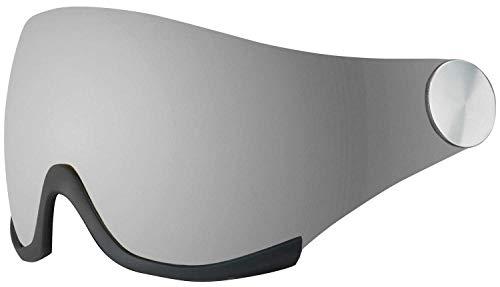 bollé R/L Backline Ersatzvisier für Skihelm Backline Visor und Backline Visor Premium, Farbe:Phantom Silver
