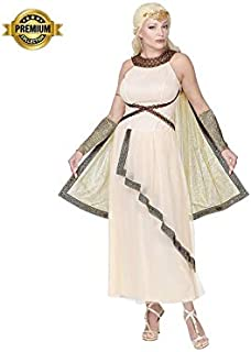 55c53227b3 Widmann Srl Costume Dea Greca Romana da Donna Adulti, Multicolore, WDM07962