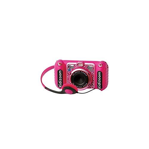 Vtech 3480-520057 Kidizoom Duo DX Digitalkamera für Kinder, Fotos, Videos, Filter, Musik-Player, Spiele, USB, Elternsteuerung, Rosa