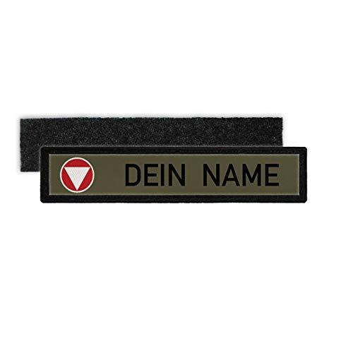 Copytec Bundesheer Namenschild Patch mit Namen Österreich BH Aufnäher Feldjacke Hemd #24349