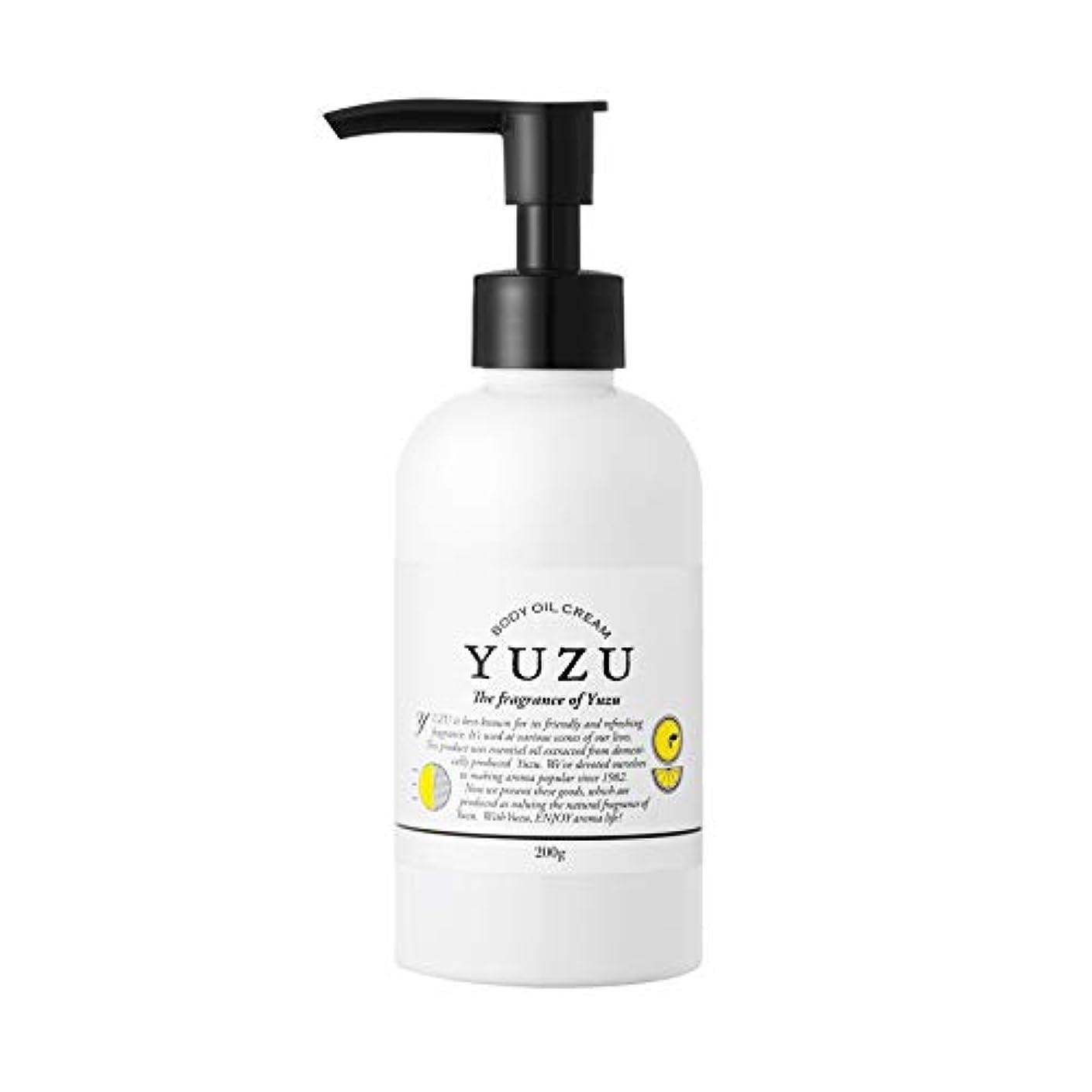 インセンティブ細断致命的なビケン YUZU ボディオイルクリーム