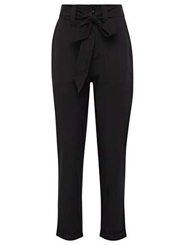 Mavi Damen Hosen Regular Pants W/Belt Black M