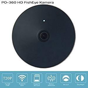360° Kamera / WIFI - HD FishEye Kamera