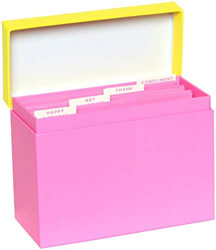 C.R. Gibson All Occasion Grußkarten und Organizer-Box, 16 Stück, 12 x 8 cm