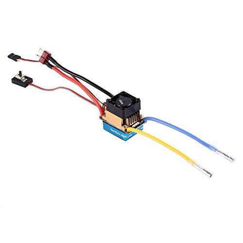 Diamoen Controlador Impermeable Ajuste del Coche 60A 3S