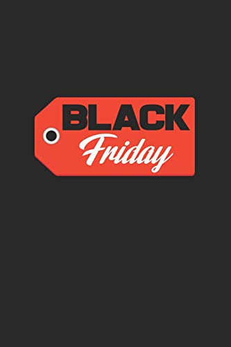 Black friday: 6x9 Black Friday | lined | ruled paper | notebook | notes