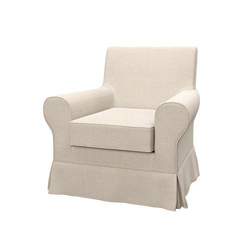 Soferia - IKEA EKTORP JENNYLUND Funda para sillón, Elegance Creme