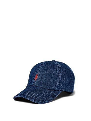 Polo Ralph Lauren Mod. 710674341 Gorra De Béisbol Jeans Unisex Azul