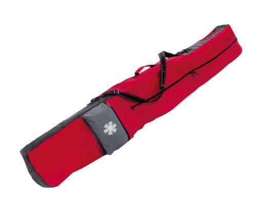 OLEIO Snowboardtasche, Sport Tasche,Snowboardbag, rot/grau, Unisex, top Qualität