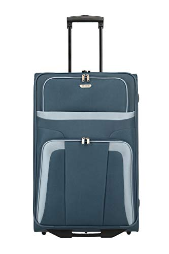 Travelite Roller Case 098489 Orlando 2 Wheel Trolley Large 80 Liters Blue (Marine) 82780