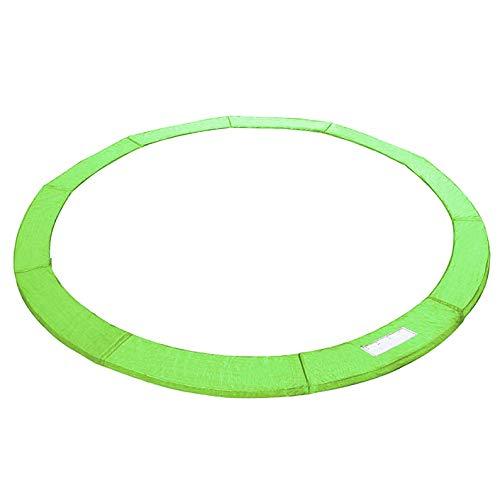 SPRINGOS Protection de Ressort Couverture de Ressort Rembourrage Bord de Trampoline pièces de Rechange pour Trampolines 305 cm 10FT matériau PVC/PE (Vert, 305 cm)