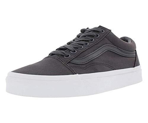Vans Off The Wall Old Skool Mono Canvas Sneakers (Asphalt) Skateboarding Shoes
