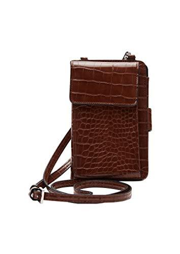 s.Oliver Damen Phone Pouch mit Flap Wallet cognac 1