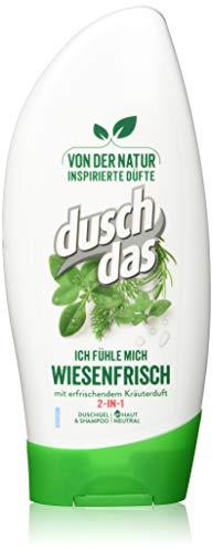 Duschdas Duschgel, für ein besseres Gefühl mit erfrischendem Kräuterduft (6 x 250 ml)