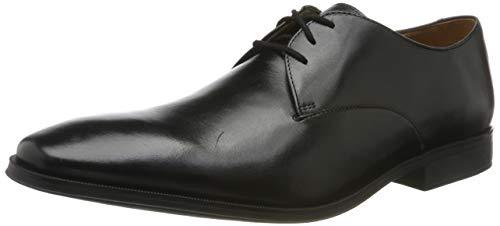 Clarks Gilman Walk, Zapatos de Cordones Derby para Hombre, Negro