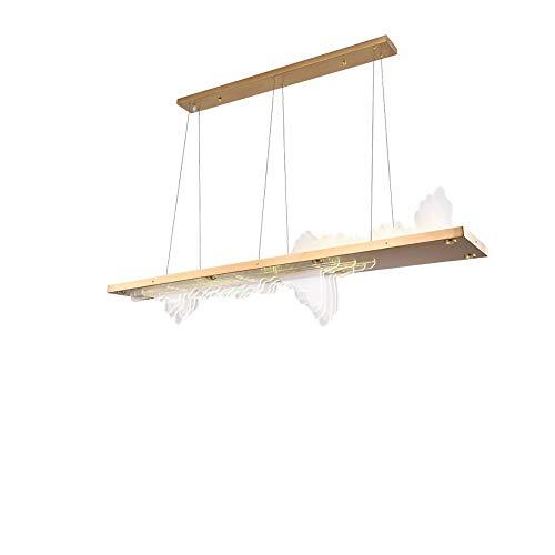 Y.A Kronleuchter postmoderne Kunst Restaurant Landschaft Kronleuchter Zen Studie Stehtisch Tischlampe Designer kreative LED-Streifen Licht
