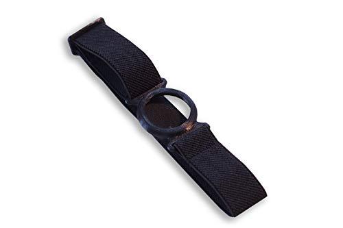 Freestyle Libre Fixierband – Ring: Schwarz (Flexibel/Sensitiv)   Diasticker® (Medium: 25-35 cm, Schwarz)