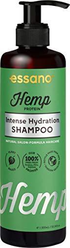 Essano Hemp Protein Intense Hydration Shampoo - Natural Salon-Formula Haircare, 300ml