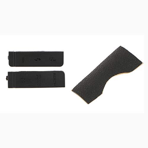 Gazechimp CF Slot per Scheda SD SD Skin + USB HDMI Copertura Antipolvere in Gomma Coperchio Coperchio Coperchio per Canon EOS 5D3 5D Mark III Fotocamere Digital