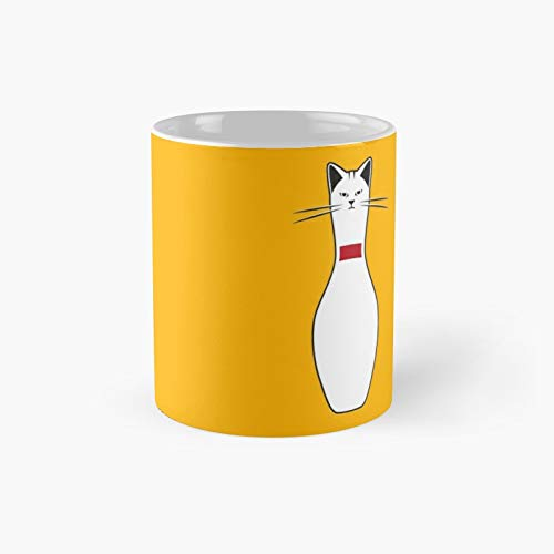Taza clásica de Alley Cat Gift The Office de 325 ml, diseño de gato