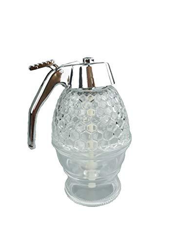 APIFORMES honingdispenser van kunststof (acryl) -200 ml | siroopdispenser, honinggieter | honing | imkerei | imkerei