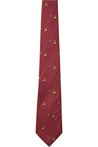Seeland Morgan Silk Tie Red