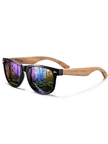Gafas de Sol Polarizadas Hombre Mujere para Conducir Deportes100% Protección UV400 Gafas para Conducción