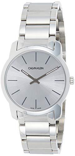 Calvin Klein Reloj Analógico-Digital para Unisex Adultos de Cuarzo con Correa en Acero Inoxidable K2G22146