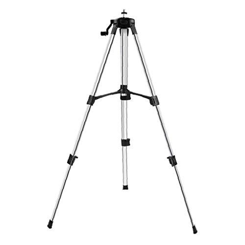 TOPofly Stativ Alu Silber 1.2m Leichte Ausziehbare Weihnachten für Telefon-Kamera-Licht Praktische Werkzeuge