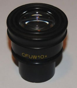 NIKON CFUW Pair of 10X Microscope Eyepieces - 30mm DiameterDamaged Plasti