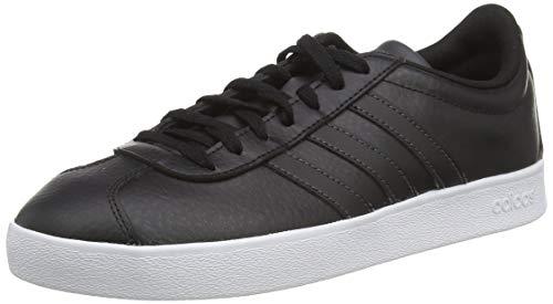 adidas Herren VL Court 2.0 B43816 Skateboardschuhe, Schwarz (Negbás/Carbon/Ftwbla 000), 44 EU