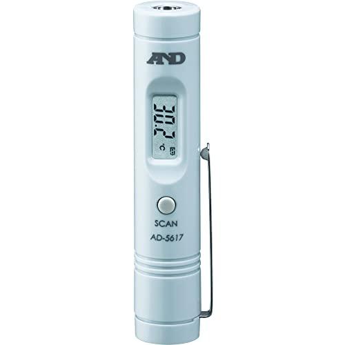 エーアンドデイ 放射温度計 ブルー AD-5617
