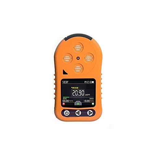 Detector de gas Medidor de concentración de ozono 0~10PPM Medidor de O3 portátil de mano con pantalla LCD Digital & Registro de datos Medidor de monitor de gas de ozono