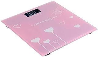 AYCPG Báscula de baño de Alta precisión Saludable de Grasa Corporal electrónica Báscula Salud Adulto Que Pesa la Escala electrónica del hogar hfhdqp (Size : 28 * 28 * 2.5cm)