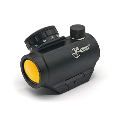 Check Out This EIBIO Premium 1x25mm Red Dot Sight Rifle Scope,100% Waterproof/fogproof/Shockproof Co...