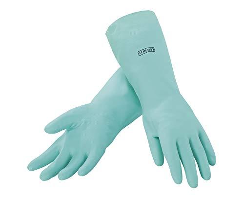 Leifheit 40038 - Guantes de latex hipoalergenicos para la limpieza de la casa, tamano: M