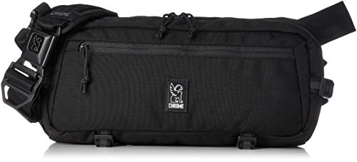 Chrome Kadet Sling Messenger Bag, 9 Liter, Black alu BKAM