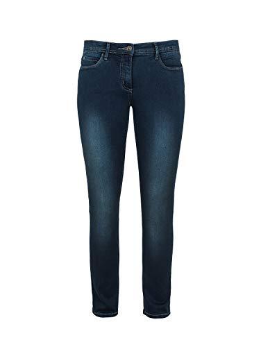 Million X Damen Jeans Victoria Power W48 L32, Blue Blue