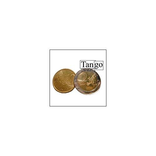 Euro Copper And Silver Coin (2e and 50c w/DVD)(E0054)Tango-Trick