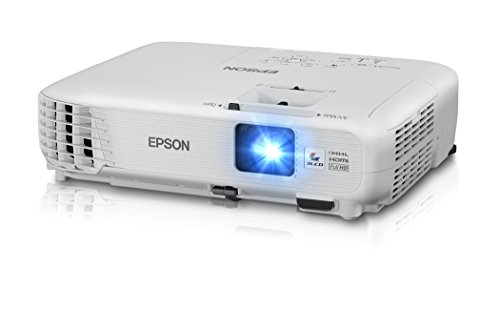 Epson Home Cinema 1040 1080p, 2x HDMI (1 MHL), 3LCD, 3000 Lumens Color and White Brightness Home Theater Projector