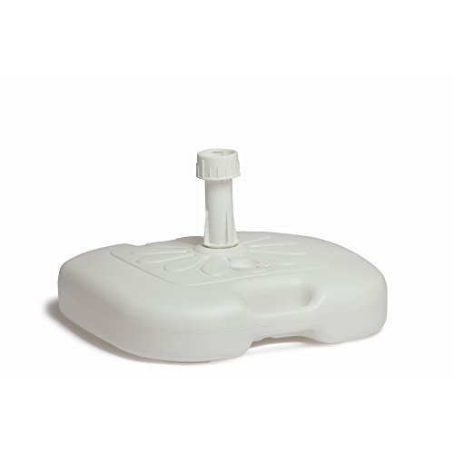 SATURNIA 8042650 Base Sombrilla Ligera Abs 20 litros Blanca