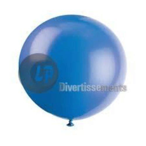 COOLMP Fiesta Palace - Ballon Géant 1M37 Bleu