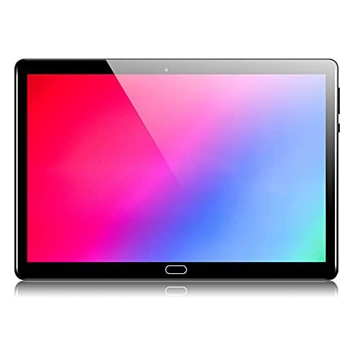 Qimaoo 4G Tablet 10 Zoll Android 10, 4 GB RAM 128 GB ROM, Octa Core Prozessor, Dual SIM/Kameras, 6000mAh Akku, WiFi/GPS/Type C/Bluetooth 4.0 Tablets
