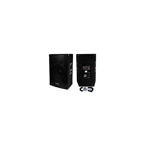 Ibiza Sound - Altavoz activo amplificado 800w + pasivo 700 w